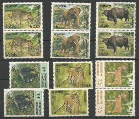 Animals On Stamps   Asia Stamp Collecting Birds of Prey Owls Hawks Eagles Animals  Bangladesh  Elephant Marine life Leopard   Spotted Deer Belize  Bear Tiger  Stamps  Topical Stamps  Wildlife