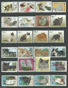 Cats Kittens Pets Domestic Animals Packet BRASIL sheet - FISH  Animals On Stamps   Asia Stamp Collecting Birds of Prey Owls Hawks Eagles Animals  Bangladesh  Elelphant Marine life Leopard   Spotted Deer Belize  Bear Tiger  Stamps  Topical Stamps  Wildlife  Stamps