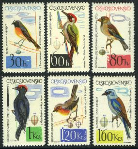 Czechoslovakia Scot #1267 - Scott #1272 - (MI 1495-1500) Birds and eggs 1964  Benin Scott #1148 - Scott #1154 Animals On Stamps FISH   Asia Stamp Collecting BRASIL Bangladesh Elephant Marine life Leopard   Spotted Deer Belize  Bear Tiger Birds of Prey Owls Hawks Eagles Animals  Stamps  Topical Stamps  Wildlife