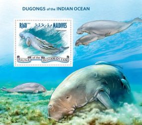 Maldives - Dugongs Indian Ocean - Marine Life  Bugs Bees Beetles Animals On Stamps FISH   Asia Stamp Collecting BRASIL Bangladesh Elephant Marine life Leopard   Spotted Deer Belize  Bear Tiger Birds of Prey Owls Hawks Eagles Animals  Stamps  Topical Stamps  Domestic Animals Rare Stamps Fly Nature Stamps Souvenir Sheet