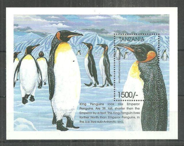 Tanzania - MNH - Nature  Penguins