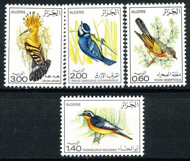 ALGERIA 1977 BIRDS SC# 595-98 MNH