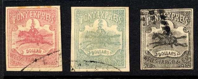 wells fargo stamp horse animals on stamps